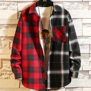 NWT Mens Fashion Button Down Flannel